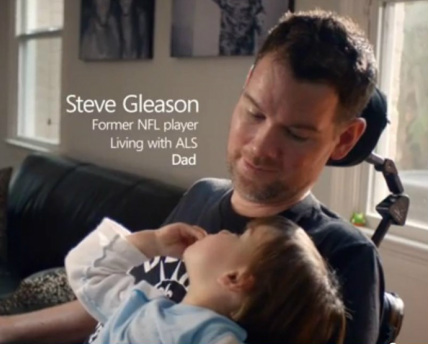 Former New Orleans Saints safety Steve Gleason