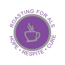 Joe's Brother Coffee Logo - Roasting For ALS, Hope, Respite, Cure